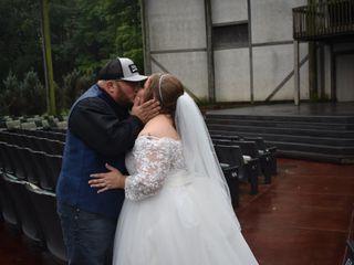 The wedding of Amber and Nick