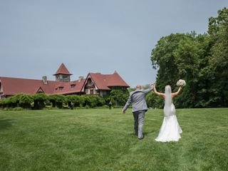 The wedding of Heather and Matthew 1