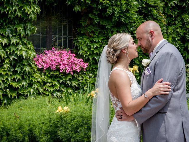 The wedding of Heather and Matthew