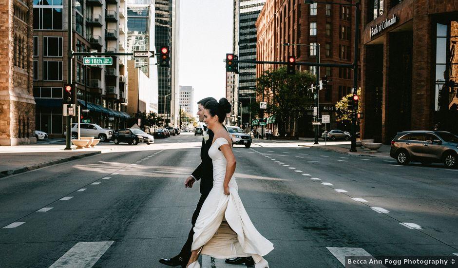David and Maggie's Wedding in Denver, Colorado