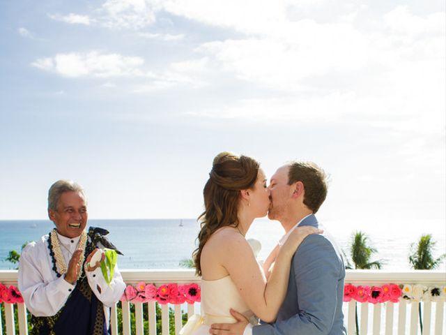 Adelaid and Toni's Wedding in Honolulu, Hawaii 10