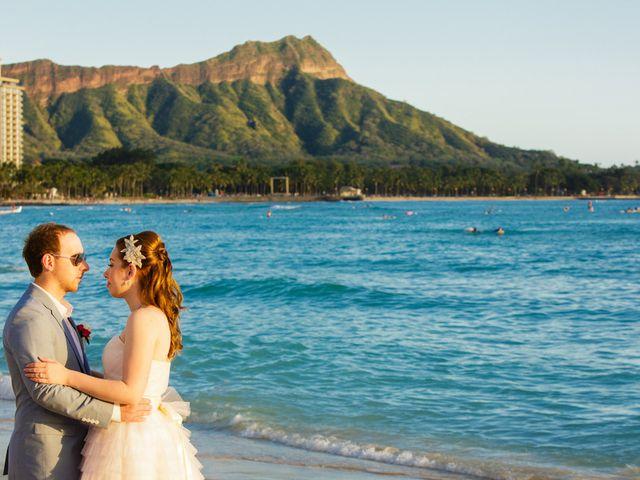 Adelaid and Toni's Wedding in Honolulu, Hawaii 20