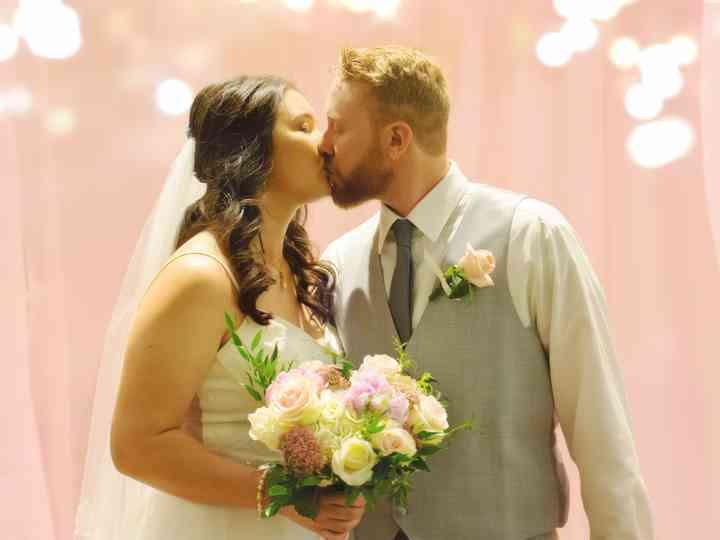 The wedding of Adam and Elizabeth