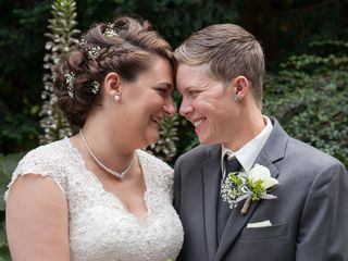 The wedding of Julika and Jess