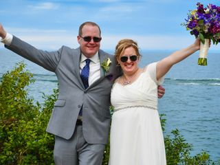 The wedding of Christina and Brian
