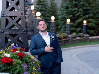 The wedding of Carolyn and David 2