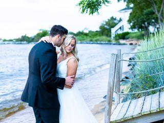 The wedding of Luke and Melanie