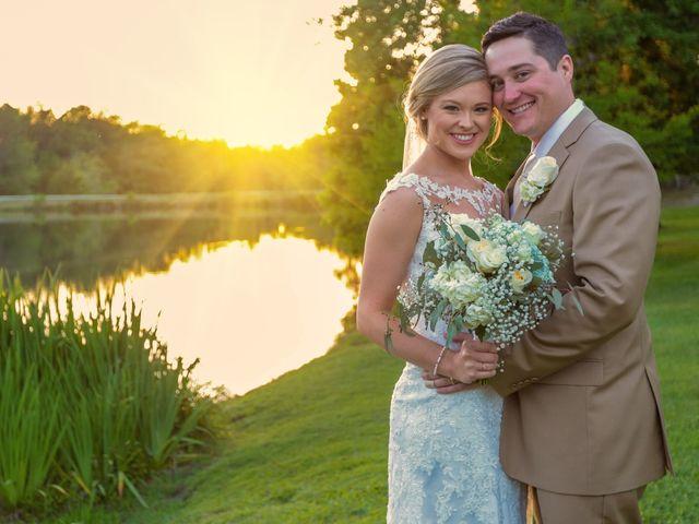 The wedding of Chase and Christina