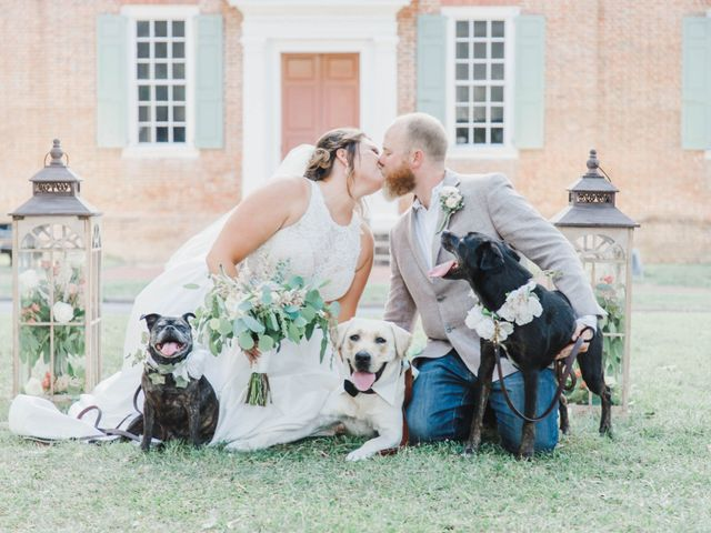 CW HAMMOND and CADIE E's Wedding in Edenton, North Carolina 1
