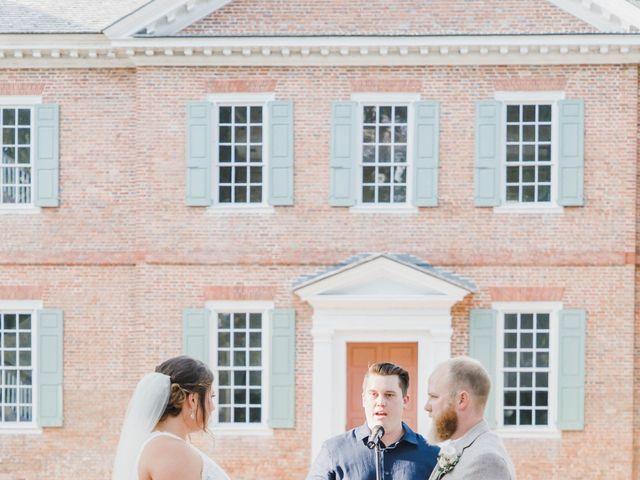 CW HAMMOND and CADIE E's Wedding in Edenton, North Carolina 35