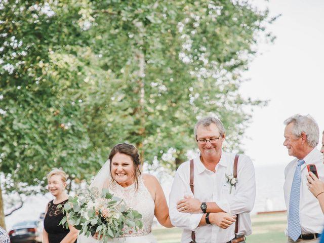 CW HAMMOND and CADIE E's Wedding in Edenton, North Carolina 37