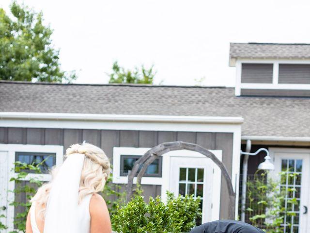 Melanie and Luke's Wedding in Stevensville, Maryland 23