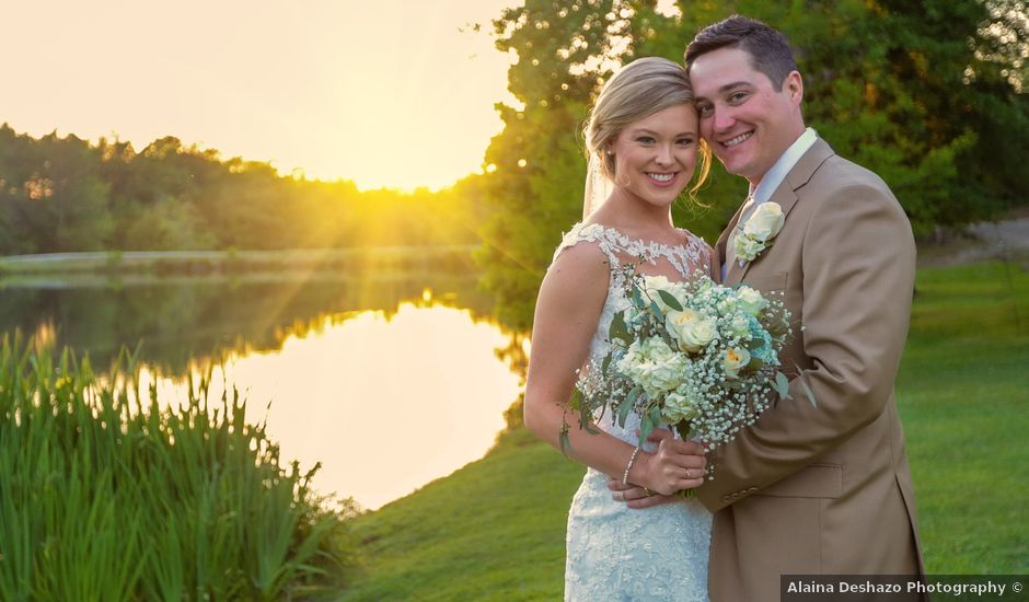 Christina and Chase's Wedding in Pansey, Alabama