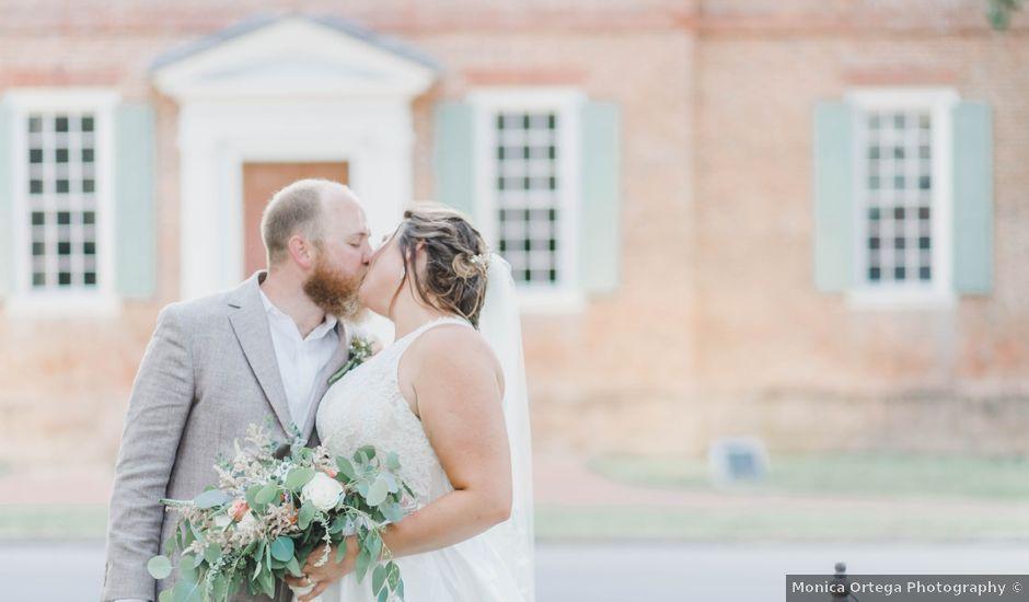 CW HAMMOND and CADIE E's Wedding in Edenton, North Carolina