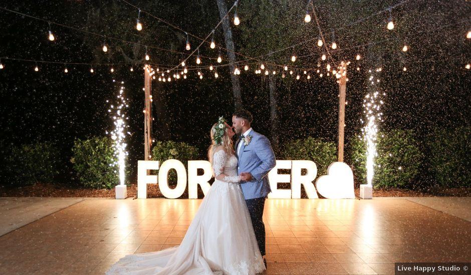 Eduardo and Kacee's Wedding in Webster, Florida
