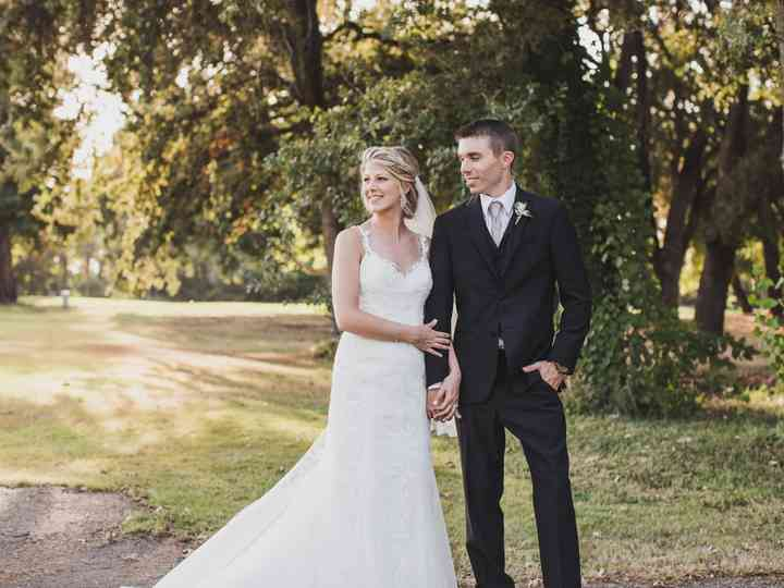 The wedding of Kelly and Cammeron