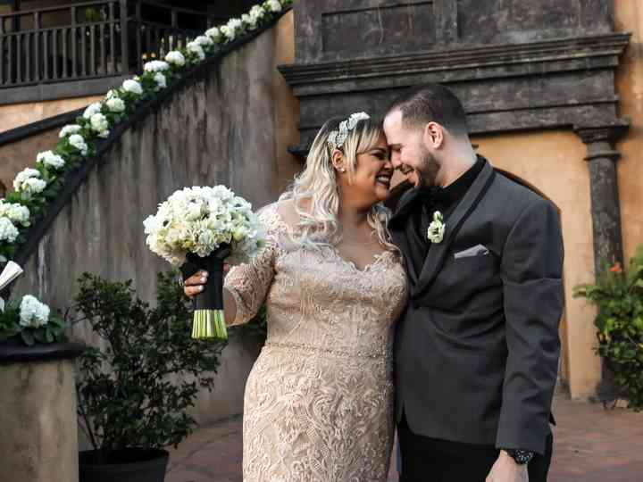 The wedding of Mireya and Osvaldo