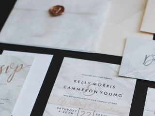 The wedding of Kelly and Cammeron 2