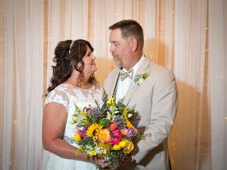 The wedding of Leigh and Bob 1