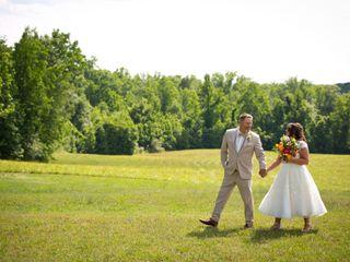 The wedding of Leigh and Bob 2
