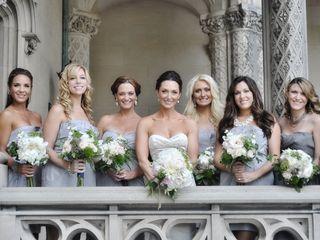 The wedding of Christopher and Marsha