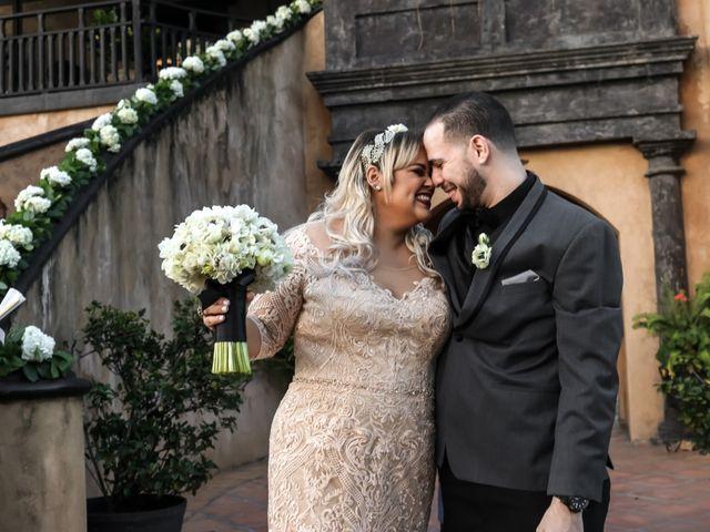 The wedding of Mireya and Osvaldo