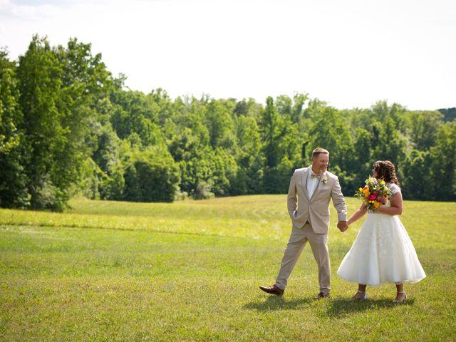 The wedding of Leigh and Bob
