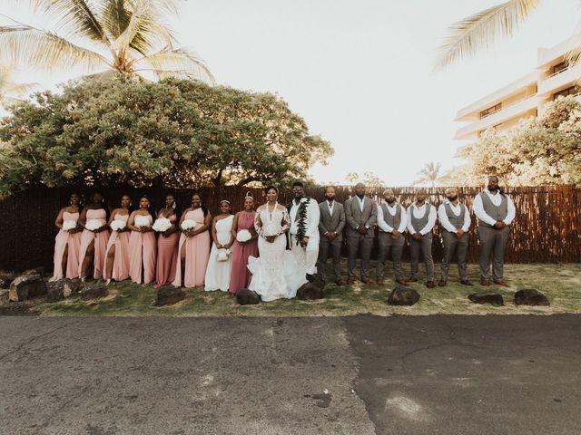 Darnell and Candace's Wedding in Kailua Kona, Hawaii 5