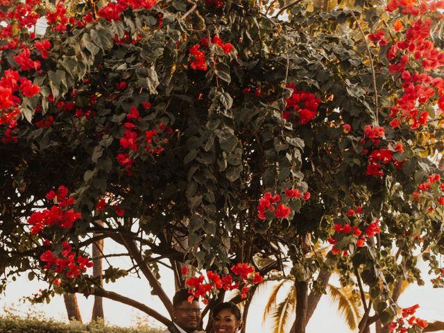 Darnell and Candace's Wedding in Kailua Kona, Hawaii 9