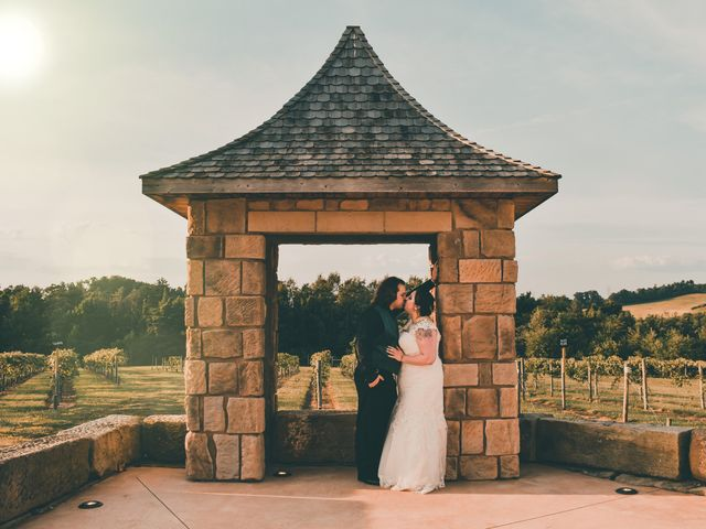 The wedding of Kelsey and Jason