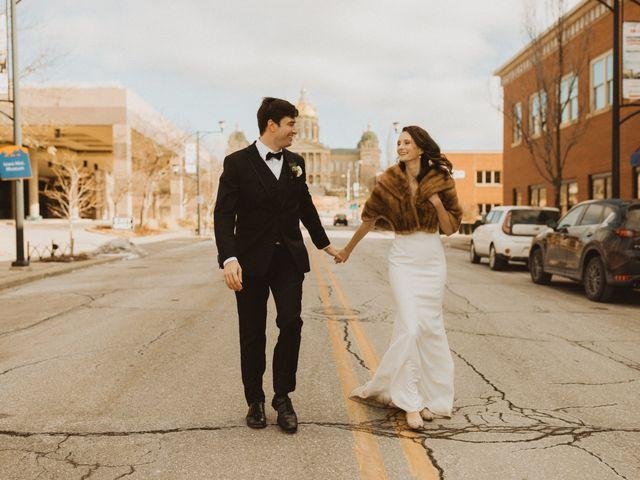 Kayla and Matt's Wedding in Des Moines, Iowa 13