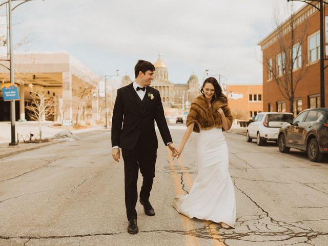Kayla and Matt's Wedding in Des Moines, Iowa 14