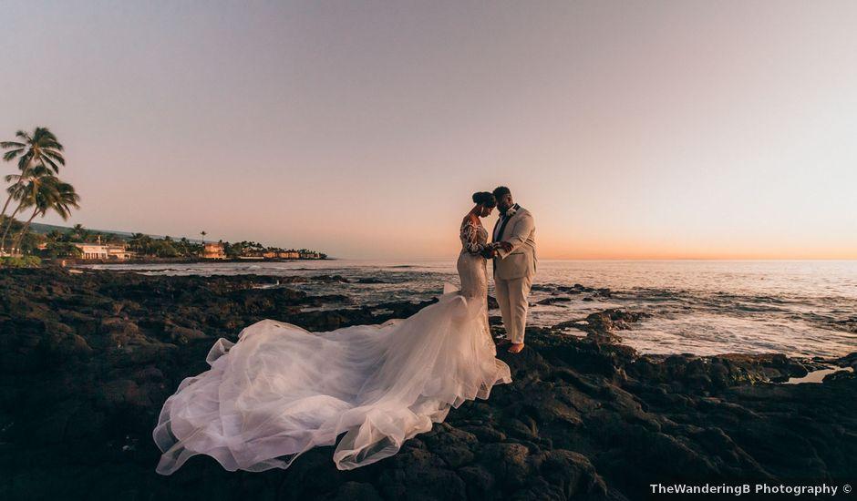 Darnell and Candace's Wedding in Kailua Kona, Hawaii