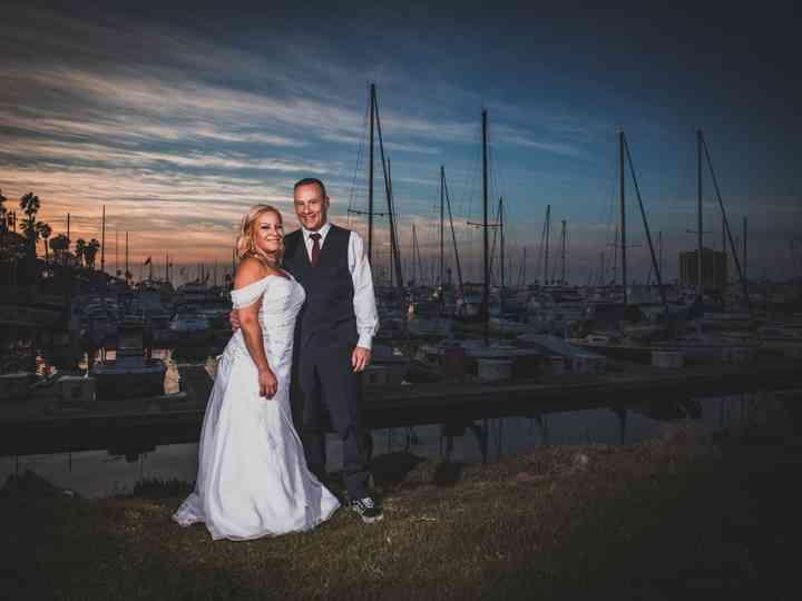 The wedding of Ron and Amanda