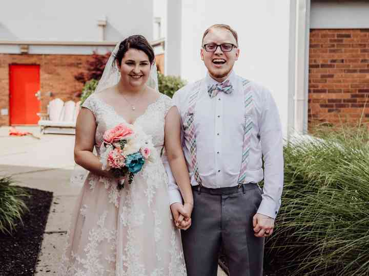 The wedding of Annie and Tyler