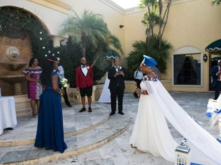 The wedding of Isabel and Curtis 2