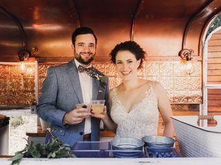 The wedding of Allison and McKenzie