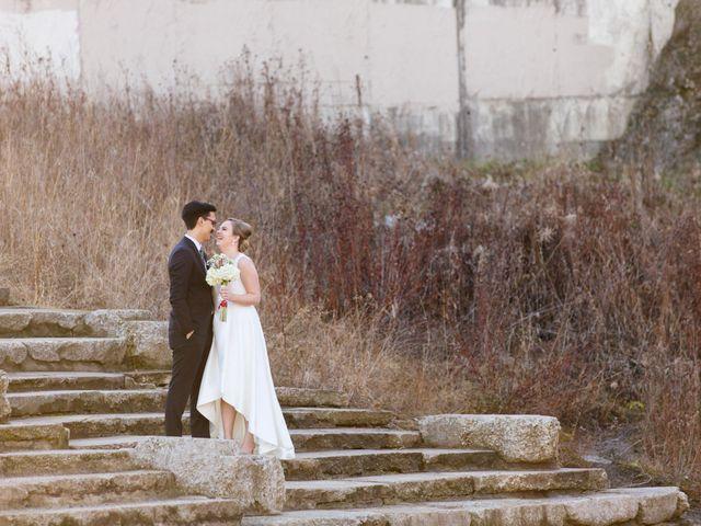 The wedding of Lauren and Noah