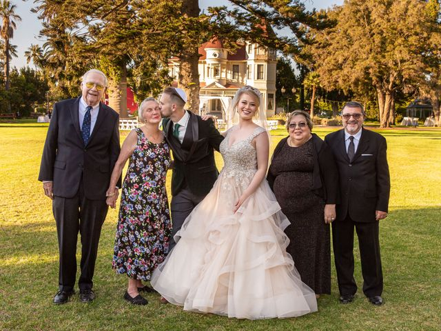 Daniala and Cooper's Wedding in Camarillo, California 40