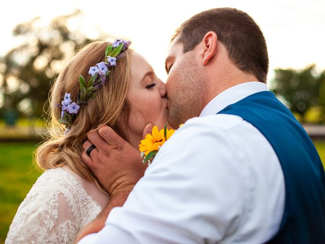 The wedding of Heather and Austin