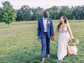 The wedding of Esther and Allan