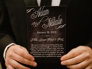 The wedding of Adam and Natalie 2