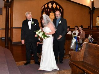 The wedding of Lornah and Grant 1