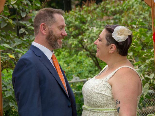 The wedding of Beth and Joe