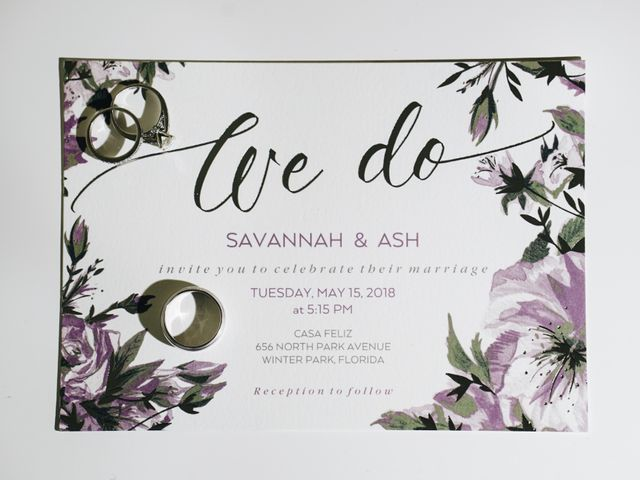 Savannah and Ashley's Wedding in Winter Park, Florida 10