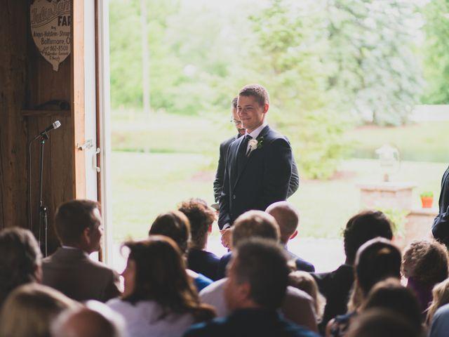 Jacob and Mikayla's Wedding in Wakeman, Ohio 9