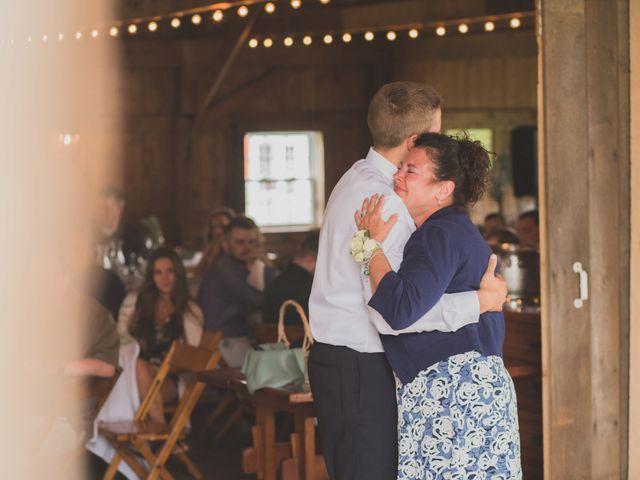Jacob and Mikayla's Wedding in Wakeman, Ohio 45