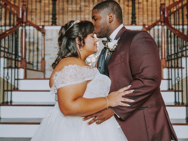 The wedding of Haley and Eddie