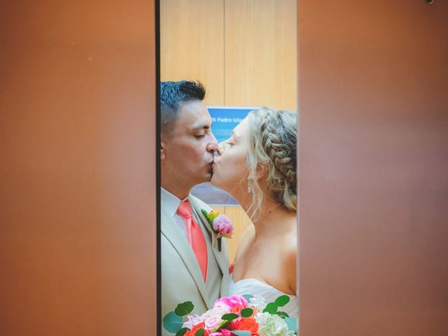Whitney and Juan's Wedding in South Padre Island, Texas 11