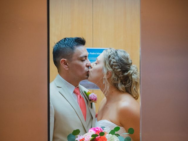 Whitney and Juan's Wedding in South Padre Island, Texas 12